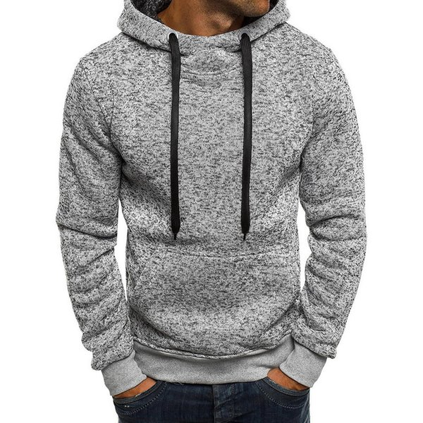 NIBESSER толстовка мужчины толстовки зима твердые толстовка мужская хип-хоп пальто пуловер с длинным рукавом мужская повседневная спортивные костюмы Masculino