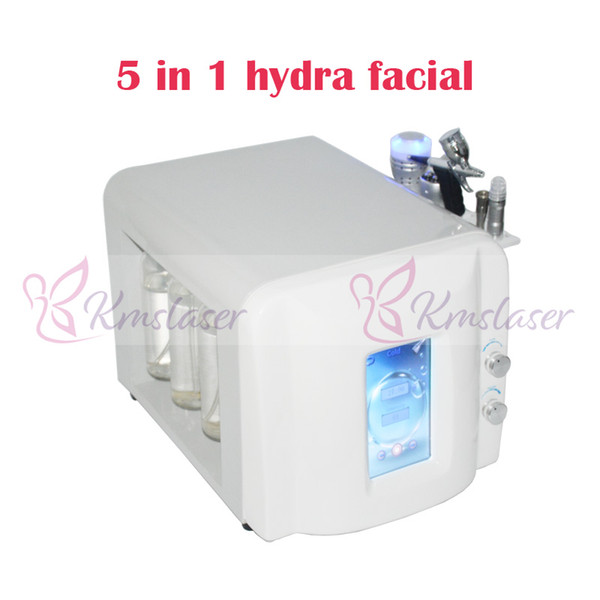 Touch screen new model with high vacuum no noise good oxygen spray gun microdermbrasion hydra facial cold hammer salon home use machine
