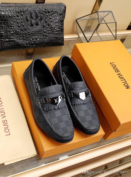 8LouisVuittongucciMarque qualité des hommes de luxe en cuir Casual marche Sneaker Chaussures de course sport chaussures de sport ont Box 149