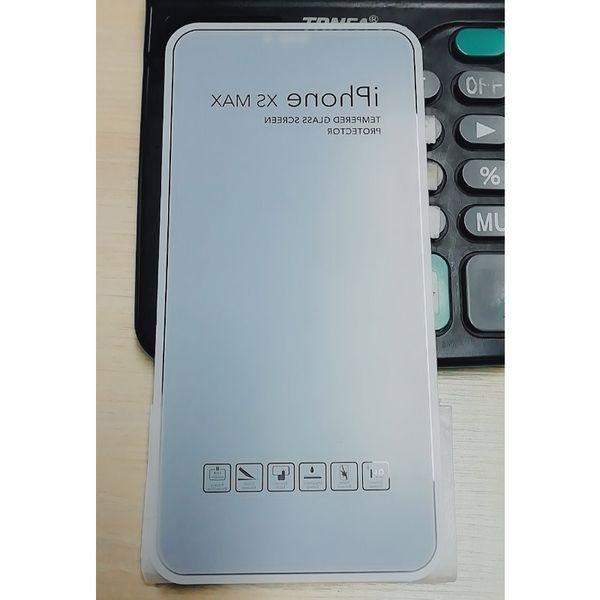 Más reciente cubierta completa Prevención Peep película de protector de pantalla de cristal templado para iPhone XS XR X 8 SE 6 con caja de venta al por menor Anti-Peep 500pcs por mayor