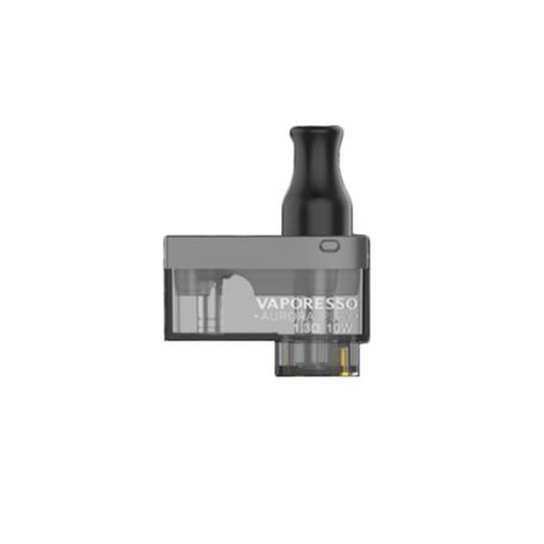 Authentic Vaporesso Aurora Play Pod Cartridge 1.3ohm 2ml Capacity Press-to-fill Design for Aurora Play Pods Kit 650mAh Battery Vapes Pod Sys