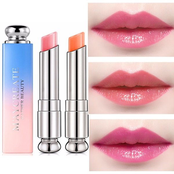 1PC Natural Temperature Change Color Lipstick Long Lasting Moisturizer Makeup Crystal Jelly Lipstick Magic Women Sexy Waterproof