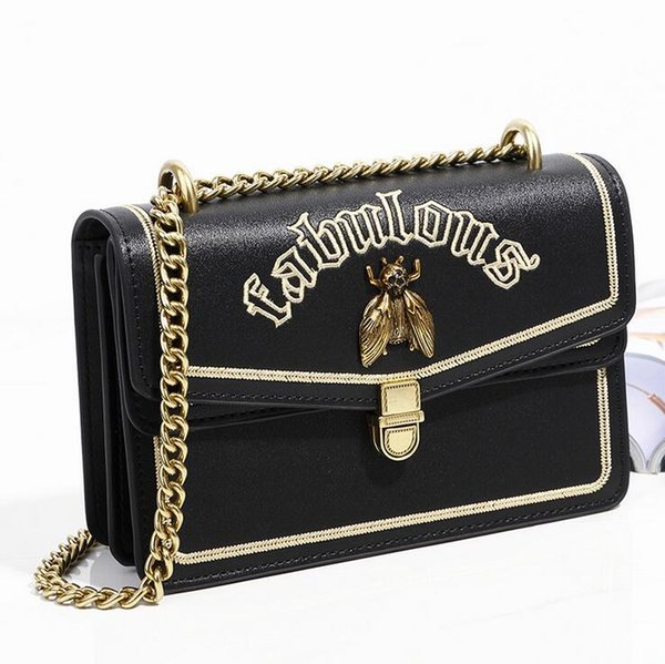 NOVA alta qualidade Luxo Delicada abelha decoração senhora Ombro mulheres Sacos Moda messenger bag handbag Fashion bag