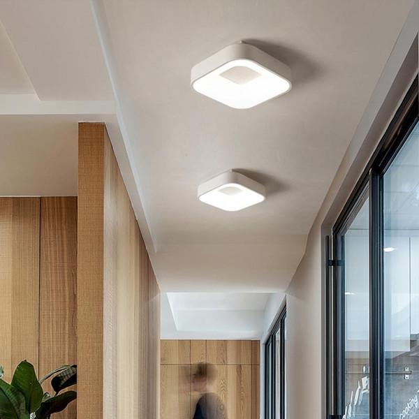 Großhandel Nordic LED Deckenleuchten N Veranda Lampe Aufputz Unterputz  Leuchte Küche Flure Wohnzimmer Dekor Glanz Lampe Von Albert_ng668, $130.66  Auf ...