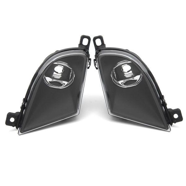 2Pcs Waterproof Fog Light For Cars Clear Lens for BMW 5 SERIES E60 2008-2011 New Headlight front Fog light Lamp For BMW E60
