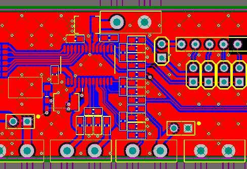 best selling ADS1263 analog-to-digital conversion module schematic and PCB file 32-bit analog-to-digital ADC ADS1263
