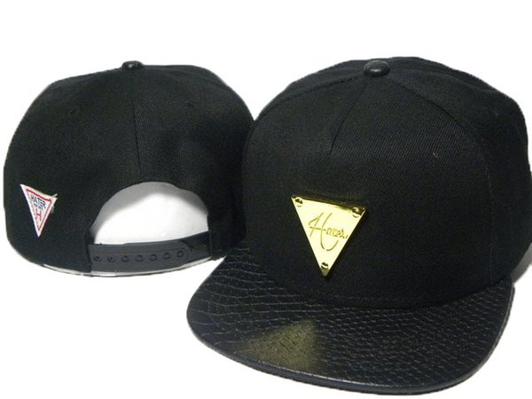 Hot style Hater snapbacks caps hip pop street snap back hats leather brim sport caps metal logo snapback hats the best price DDMY