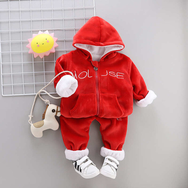 Kids Sets1-3T Kids T-shirt and Short Pants 2 Pcs/sets 3 Colors Children Sports Sets Baby Boys Girls 95% Cotton Sets hf52008