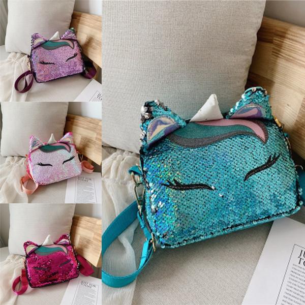 New Arrival Girl Purse Handbag Children Shoulder Bag PU Women Messenger Bags Cute Coin Purse Wallet Bags For Phone Coin Card Keys M21Y