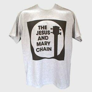 THE JESUS AND MARY CHAIN PUNK ROMen INDIE GOTH T-SHIRT unisex grey S-3XL