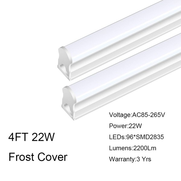4FT 22W Frosted Cover
