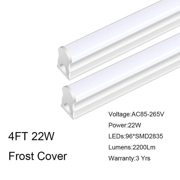 4FT 22W cubierta helada