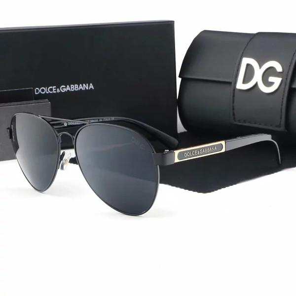 4807 vintage mode nouveau de haute qualité lunettes de soleil hommes et femmes designers de la marque des hommes et des femmes des lunettes de soleil de cadre d'or avec des boîtes