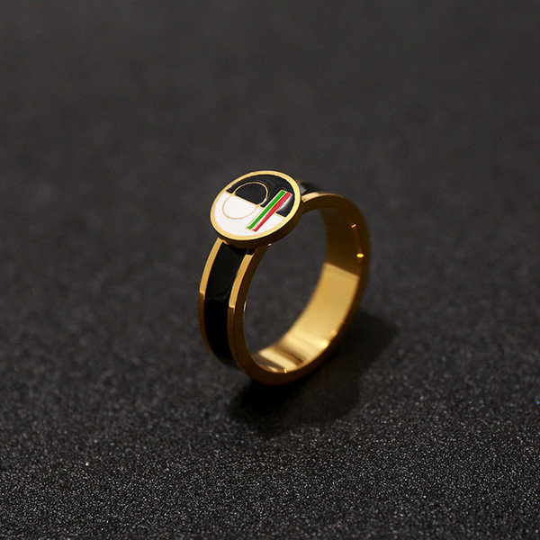 Italy Brand Fashion Design Rings Men's Women's Luxury Ring Unisex Gold Silver Engagement Rings Fine Jewelry Lover Gifts