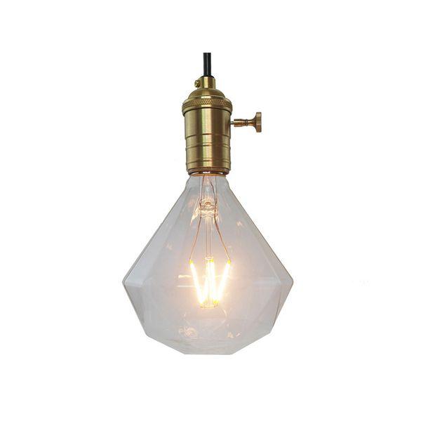 L'ampoule menée Dimmable 2w / 4w / 6w / 8w E27 a mené la lampe vintage de filament de l'ampoule 220V pour l'éclairage de toute façon