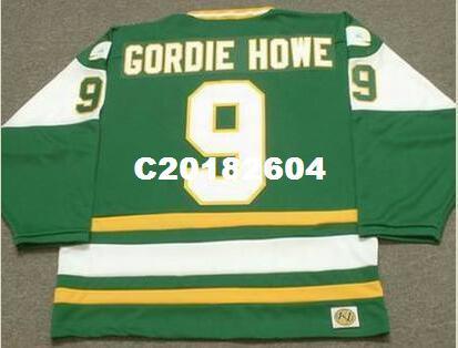 35543d3c2 2019 Men  9 GORDIE HOWE New England Whalers 1978 WHA RETRO Hockey ...