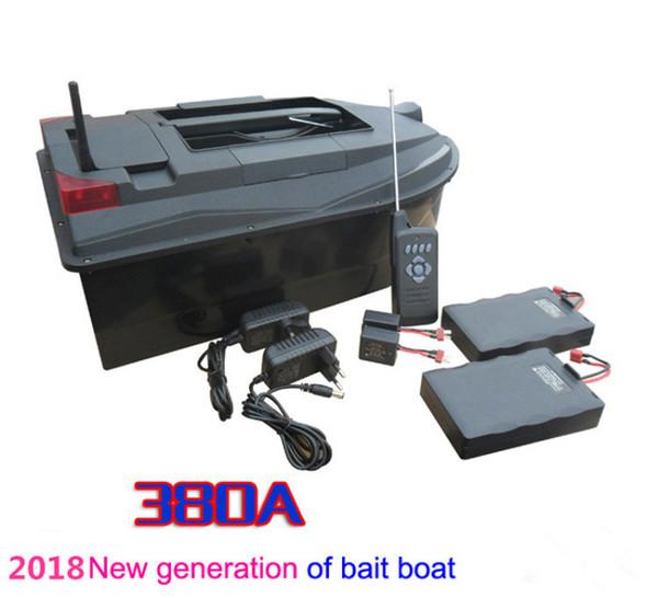 PDDHKK Rc Bait Boat per la pesca con doppio motore Dual Battery Fish Finder Sistema di aggancio indipendente Sistema di allarme a bassa potenza