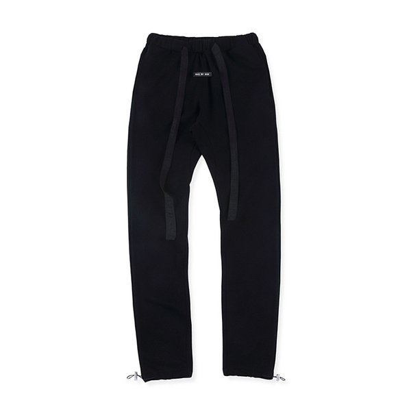 Fear of God sixth season beam footband drawstring solid color sports pants Wei pants men's and women's trousers S-XL