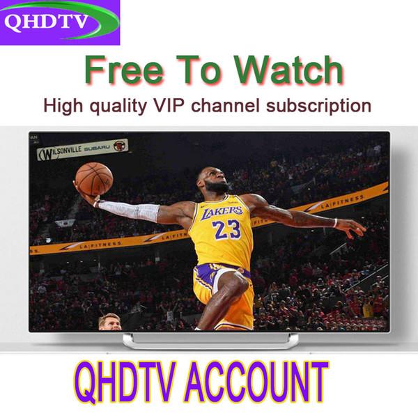 1Year QHDTV Arabic Sports Italy Germany 1300+ Europe IPTV Arabic Iptv Channels Streaming IPTV Account Apk Work on Android smarttv