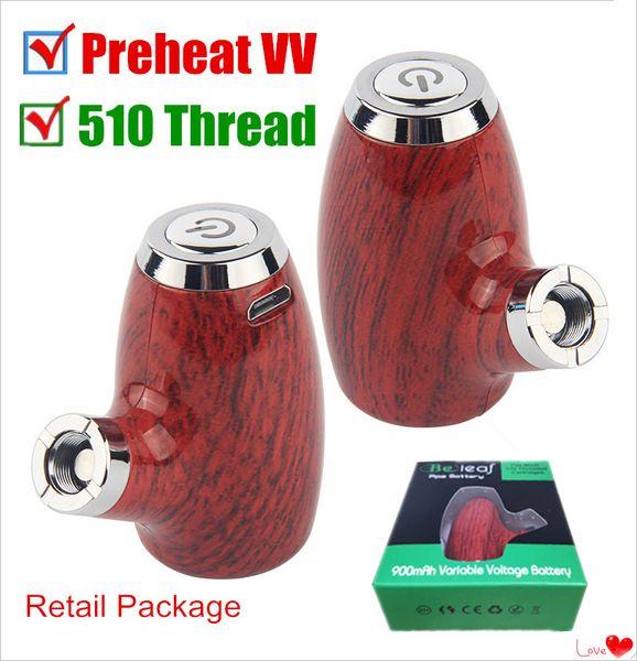 Новый традиционный стиль ePipe KY32 510 резьба Vape Pen подогрев переменного напряжения испаритель 900mAh деревянные паровые Моды курительная трубка