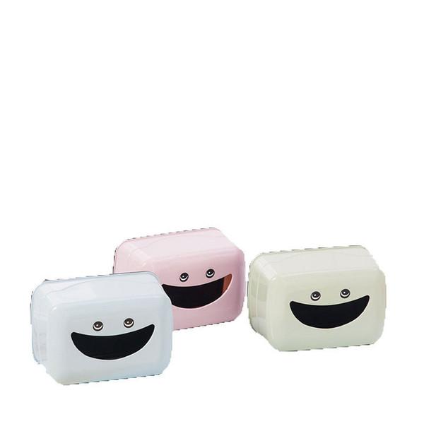 Bandeja de papel Bandeja del rollo Sala de estar Hogar Papel de escritorio Carrete Plástico Caja linda del tejido