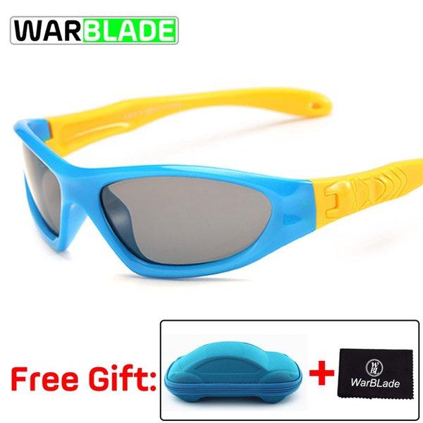 9e1f4c41a1cd8 Ciclismo Gafas TAC Flexible Para Niños Gafas De Sol Polarizadas Niño Niña  Niño Deporte Gafas De Sol Gafas UV 100% Gafas De Sol Con Estuche   171496  Por ...
