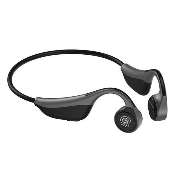 Bluetooth 5.0 S.Wear V9 Drahtlose Kopfhörer Knochenleitungskopfhörer Outdoor-Sport-Headset mit Mikrofon-Freisprecheinrichtung