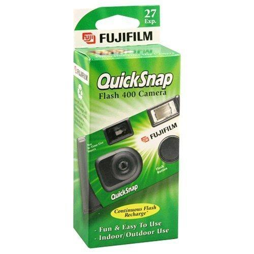 QuickSnap Flash 400 Disposable 35mm Camera 27 Exposures Single Use Camera Birthday Gift One Time Use DEC529