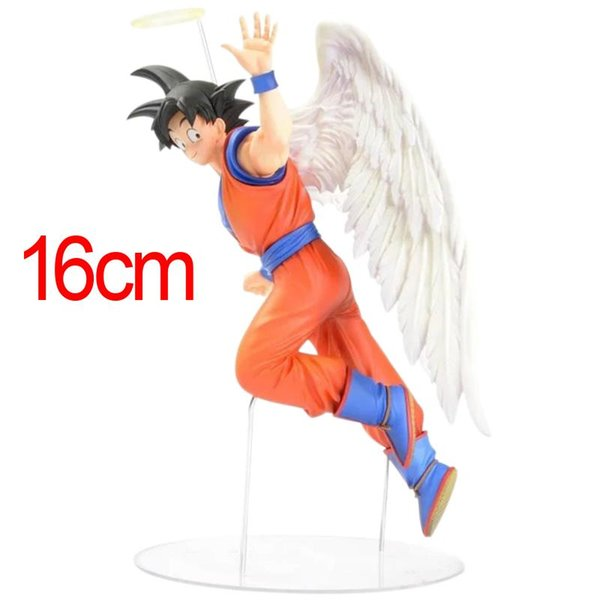 16cm Japanese Anime Figure Toys Dragon Ball Z Action Figure Angel Son Goku Figures Doll PVC Model Kids Toy