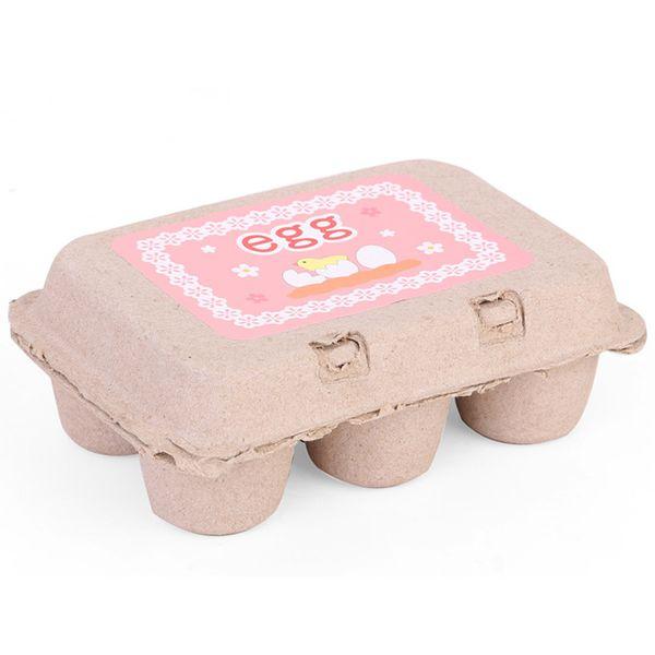 top popular 6 pieces of wooden kitchen toys play kitchen food cooking yolk deceive children kids baby toys baby kitchen toys 2021