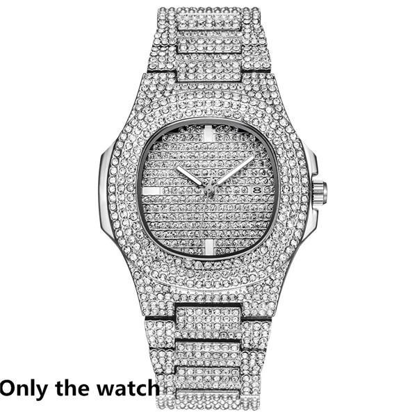 Sólo reloj de plata