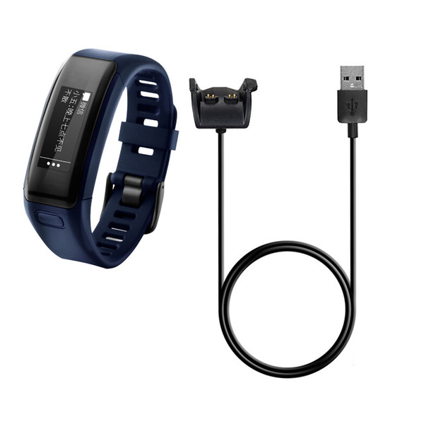 for Garmin Vivosmart HR HR+ Approach X40 100cm USB Power Charger Charging Cable wire Wristband Bracelet 100PCS/LOT