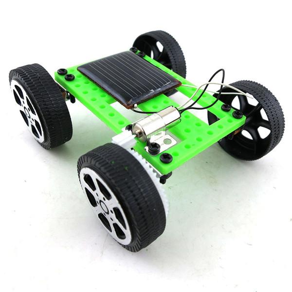 top popular DIY solar toys car kids educational toy solar Power Energy Racing Car free shipping C6155 2021