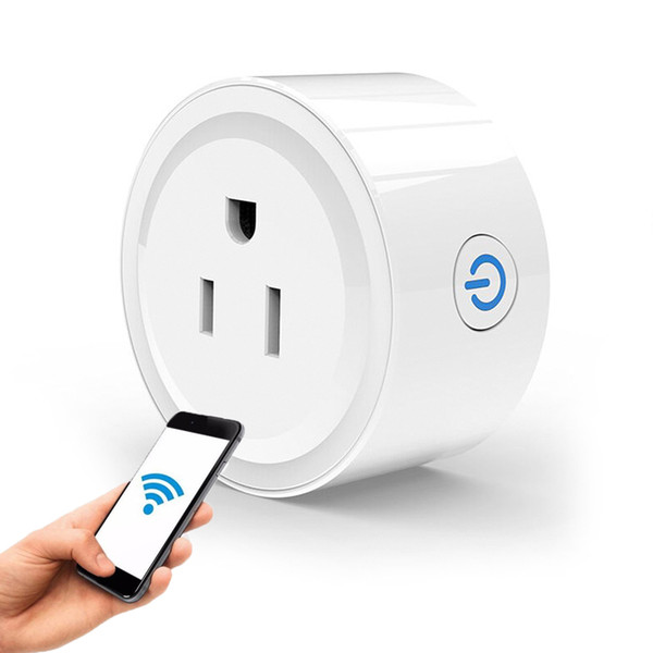 US Smart WiFi Socket Plug Remote Control Timing On/Off Switch The Power Samrt Home Portable Electric Mini Socket Wireless Timer