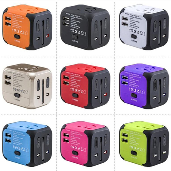 travel wall charger Adapter mix color