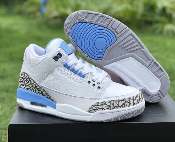 good quality 3s unc pe white valor blue