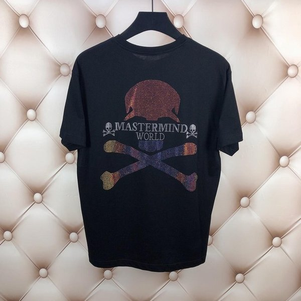 Mastermind MMJ Tshirt Uomo Donna Giappone Mastermind 3M Reflective Streetwear T-Shirt Harajuku Mastermind 3D Top Tees