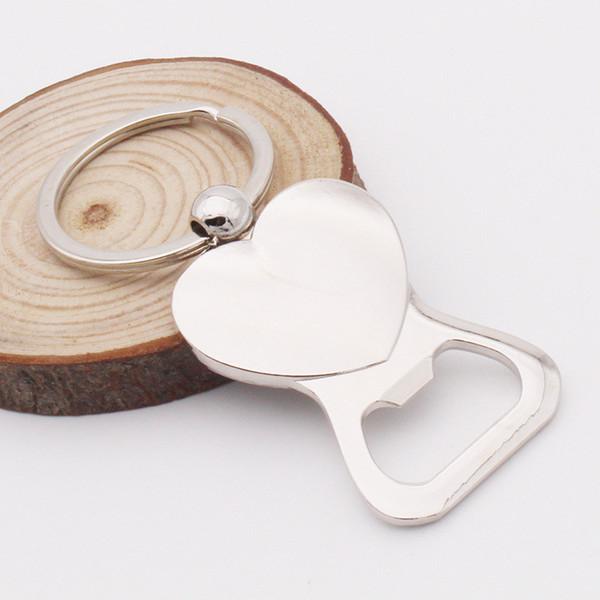 Love Heart Shaped bouteille de vin bière ouvre mignon Keychain Porte-clés Porte-clés Portable Durable extérieur EDC Multi Tool NO156