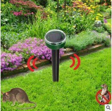 50Piece Mouse expeller Pet Dog Eco-Friendly Solar Power Ultrasonic Gopher Mole Snake Mouse Pest Reject Repeller Snake repeller