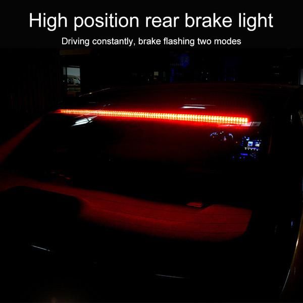 Универсальная автомобильная High Brake Light 12V Стоп сзади Tail Предупреждение свет лампы Модифицированный Высокий тормозной проблесковый