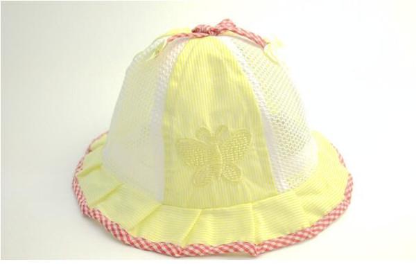 Cuffia per neonati con cappuccio per bambino CAP bambino con cappuccio per neonato protezione solare per bambina estate WL468