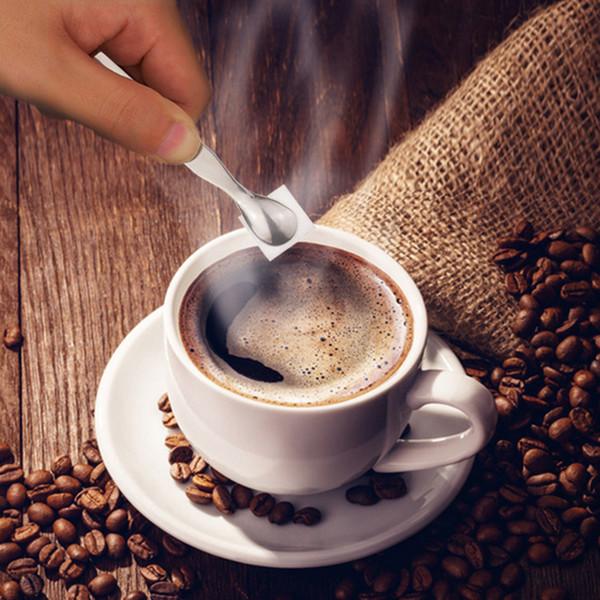400 unids / lote Mini Abrazadera de Hielo de Acero Inoxidable Coffee Sugar Tongs Tool Bar Barbacoa Barbacoa Clip Accesorios de Cocina Portable