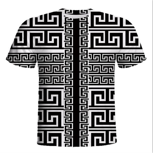 MC 2018-2019 plus récent G Mode hommes occasionnels Marque loup Tshirt Homme T-shirt à manches courtes T-shirt O-Cou méduse Hommes Requin chat noir Tee Homme T-shirts