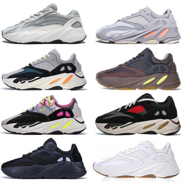 Kanye West v2 static Grey 3m Reflective Retro Running Shoes V2 Mauve Solid Grey fashion luxury mens women designer sandals shoes