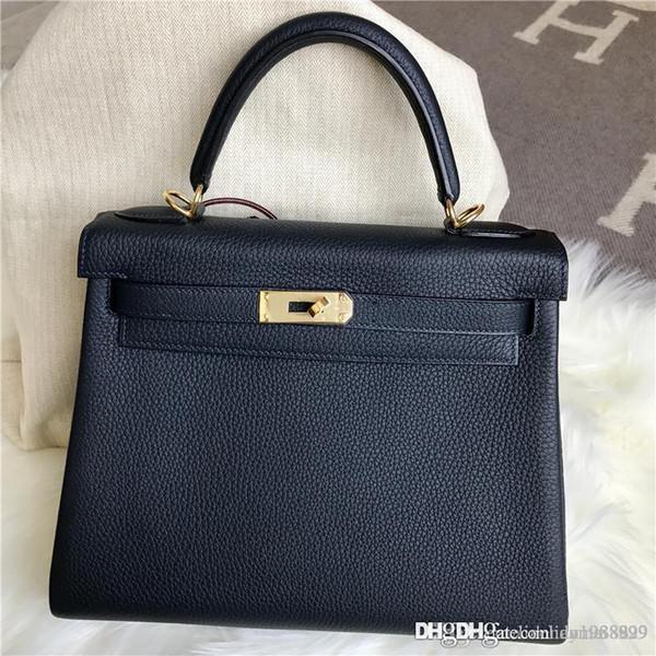 Hot Sale Classic Fashion 100% Hand Stitching classic K Togo leather best handmade Authentic bag togo original handbags women messenger bags