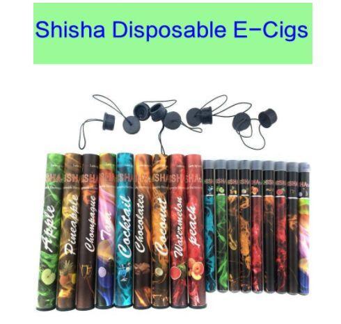 Shisha pen Eshisha Disposable Electronic cigarettes E cigs 500 puffs 27 type Various Fruit Flavors Hookah pen