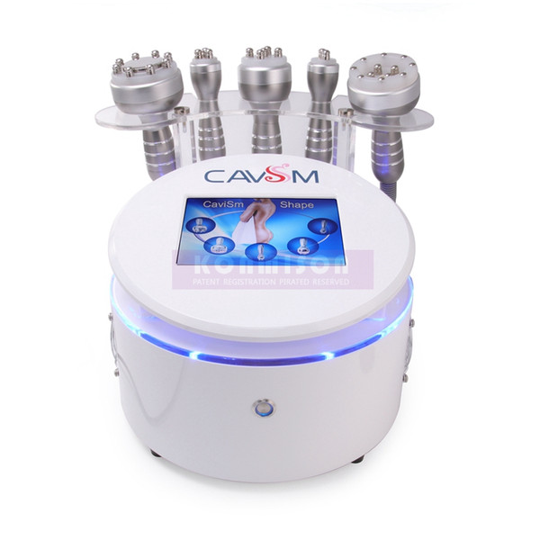 2019 New Arrival 5 In 1 Cavitation RF Vacuum BIO Fat Burning Machine Weight Loss Slimming Equipment Salon Or Home Use
