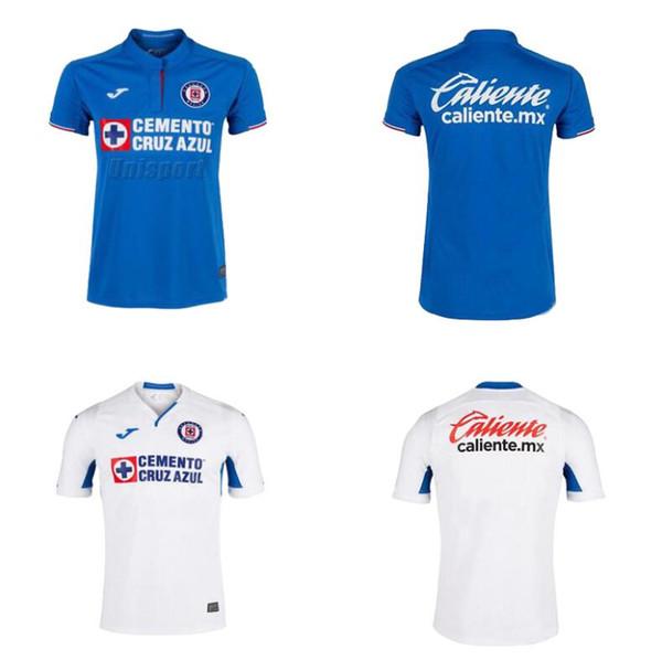40c73e679e6 New Arrived 2019 2020 S-XXL Mexico Club Cruz Azul Liga MX Soccer Jerseys 19