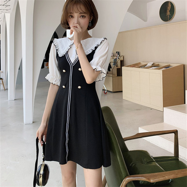 New sexy nightclub waist slim slimming stitching dress wholesale dectory dectory hot sale free shipping Q126-1