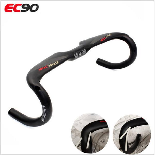 EC90 T800 freno completo de fibra de carbono viento bicicleta de carretera manillar fibra de carbono doblado mango de bicicleta de carretera